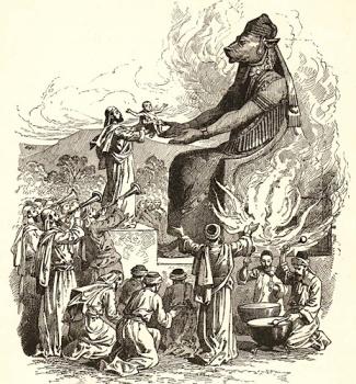 Offer till Baal eller Molech