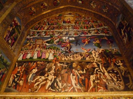 Vank_Cathedral_-_Heaven-Earth-Hell_fresco