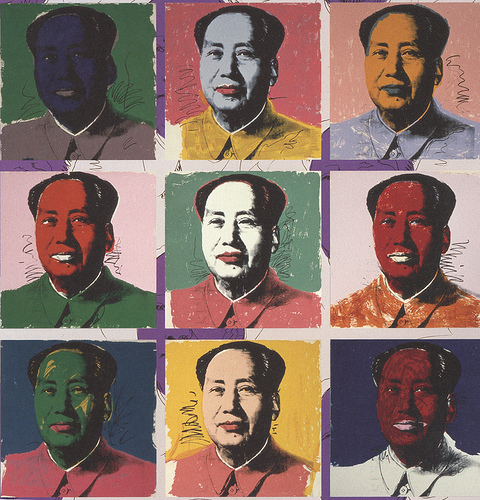 Mao av Andy Warhol